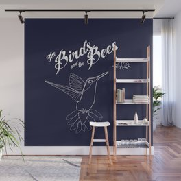 The Birds And The Bees Wall Mural