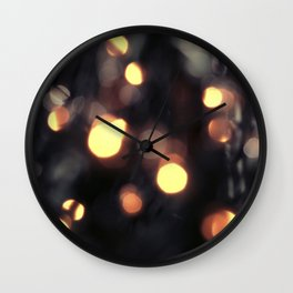 Light Fall Wall Clock