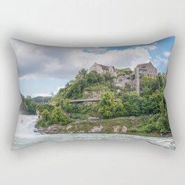 The Rhine falls Rectangular Pillow