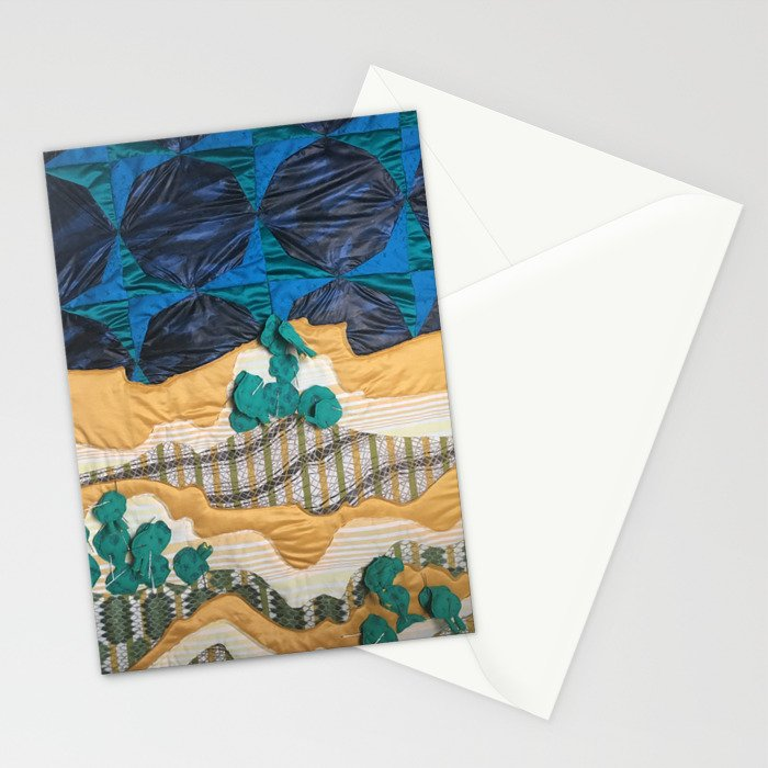 Deserted Stormscape Stationery Cards