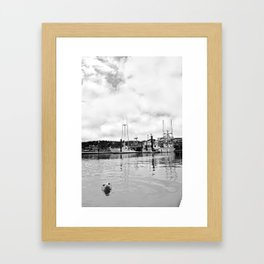 Sea MONSTER Framed Art Print