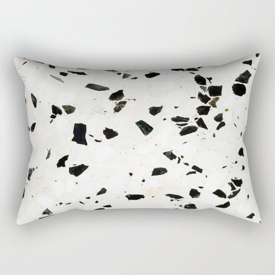 Terrazzo Texture Rectangular Pillow