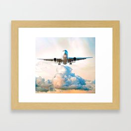 The Miracle of Flight Framed Art Print