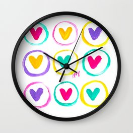 We Are Made of Colours Wall Clock