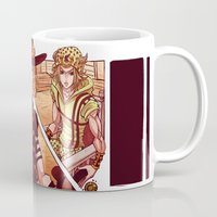 jjba Mugs featuring what did you just do to me? by vvisti