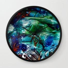CoralReef Wall Clock