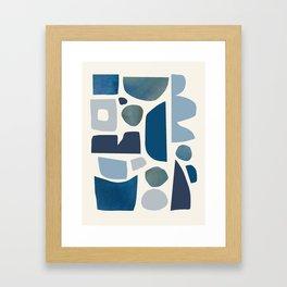 Sunday night rain. Framed Art Print