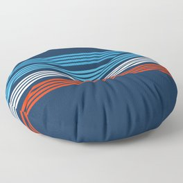 Bokuden - Classic Retro Stripes Floor Pillow
