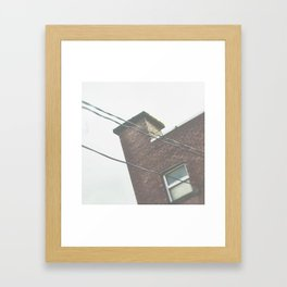 some are waiting Framed Art Print