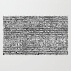 Vintage Brick Wall Rug