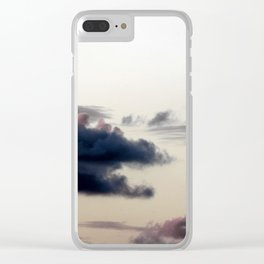 Cloudy Sky II Clear iPhone Case