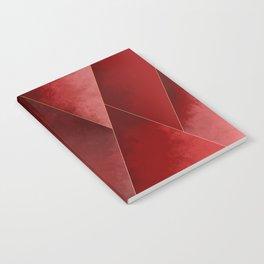 Crimson Tones Notebook