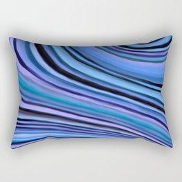 Mineralicious~Blue Agate Rectangular Pillow