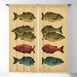 One fish Two fish... Blackout Curtain