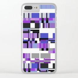 Debussy Little Shepherd (Purples) Clear iPhone Case