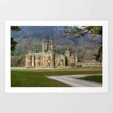 Margam Castle Art Print