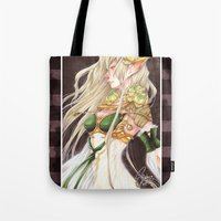 elf Tote Bags featuring Elf by sadyna