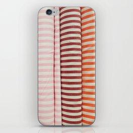 Bolt-Candy Stripes iPhone Skin