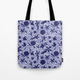 MOSAIC JELLY BEANS AND FLOWERS Tote Bag