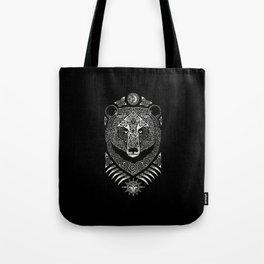 Scandinavian bear Tote Bag