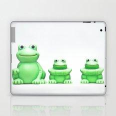 The three frogs Laptop & iPad Skin