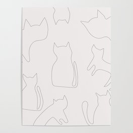 Coit Cat Pattern 1 Poster