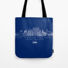 My City is Better Than Your City - Spokane, WA Tote Bag