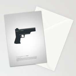 Shoot film not people Stationery Cards