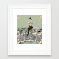 gentleman Framed Art Prints featuring Gentleman by Cacho de Colegiales