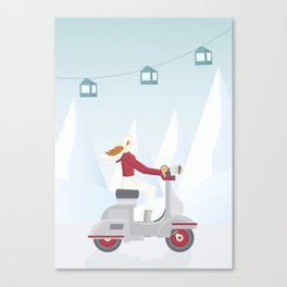 Ski Trip Canvas Print