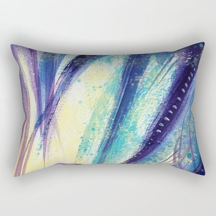Yucca Leaves Rectangular Pillow
