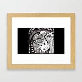 Eyeface Framed Art Print