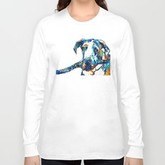 Great Dane Art - Stick With Me - By Sharon Cummings Long Sleeve T-shirt