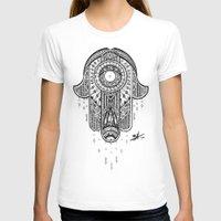 hamsa T-shirts featuring Hamsa by Zack Knight