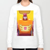 transformer Long Sleeve T-shirts featuring G1 Transformers Autobot Rodimus Prime by TJAguilar Photos