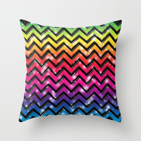 Rock Down To Electric Avenue. Throw Pillow