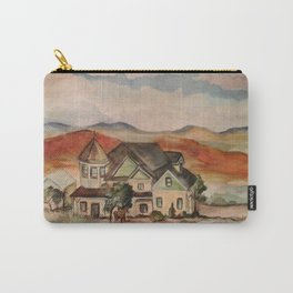Poppy Fields Ranch Carry-All Pouch