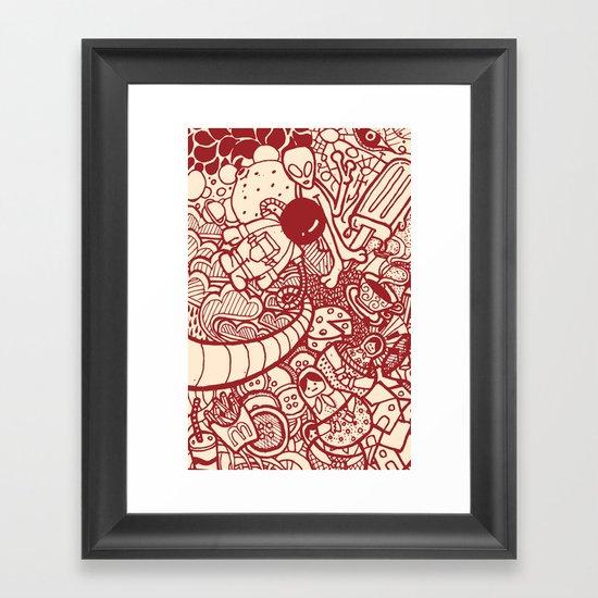 #MoleskineDaily_06 Framed Art Print