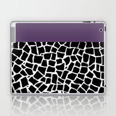 British Mosaic Purple Boarder Laptop & iPad Skin