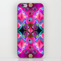 diamonds iPhone & iPod Skins featuring Diamonds by thea walstra