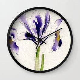 Iris v.2 Wall Clock