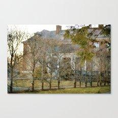The Secret Garden Mansion Canvas Print