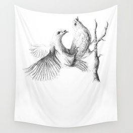 dove love Wall Tapestry