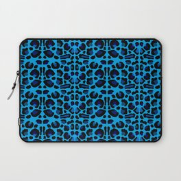 Blue Shades Animal Print Laptop Sleeve