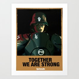Together We Are Strong Art Print
