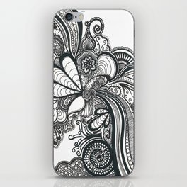 Doodle 1 iPhone Skin