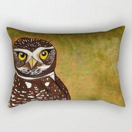 Burrowing Owl Rectangular Pillow