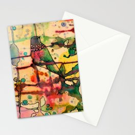 mais dis-moi comment? Stationery Cards