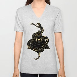 Serpent and the Watcher Unisex V-Neck