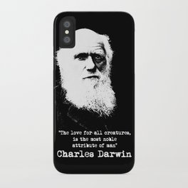 Darwin iPhone Case